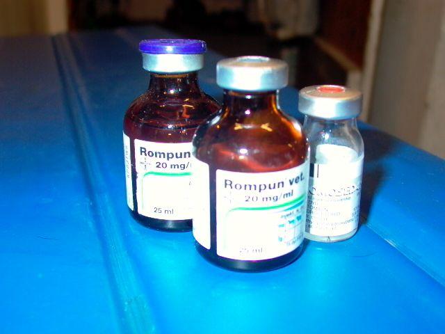 Medisinflasker