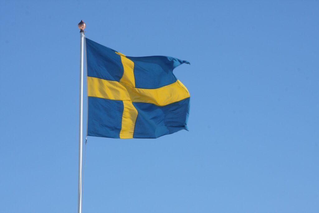 Flagg Sverige 040310
